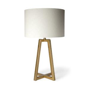 Raelynn Gold One-Light Table Lamp