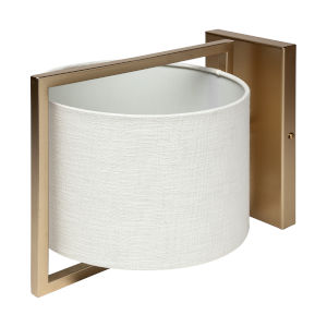 Smithe II Gold One-Light Wall Sconce