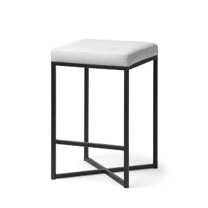 Frodo Black and White Counter Height Stool
