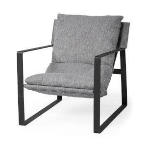 Guilia Castlerock Gray Sling Arm Chair