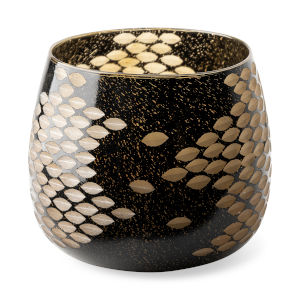Mojave Black Glass Vase