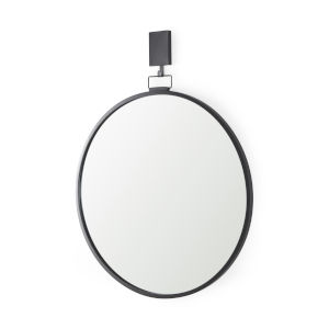 Grimm Gun metal gray Wall Mirror