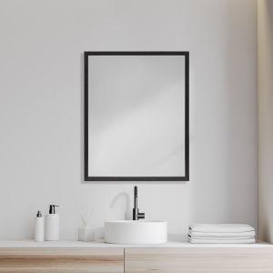 Black 32-Inch Wall Mirror