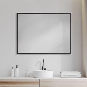 Black 30 X 40 In. Wall Mirror
