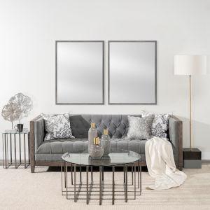 Gray 30 X 40 In. Wall Mirror