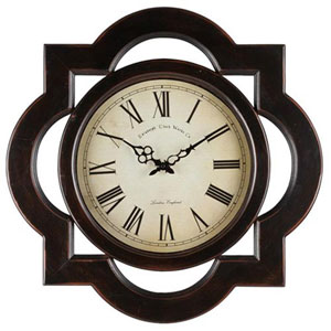 Aster Distressed Clock