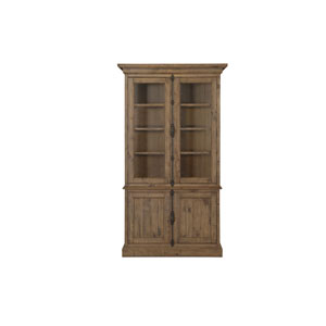 Quinn China Cabinet in Weathered Barley