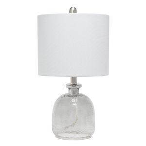 Cerise Smokey Gray One-Light Table Lamp