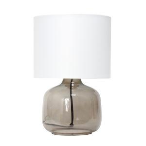 Cerise Smoke White One-Light Table Lamp