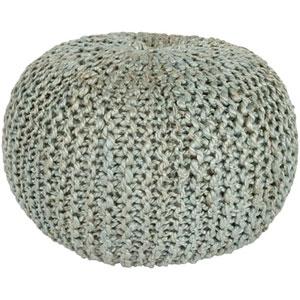 Fulton Light Gray Sphere Pouf