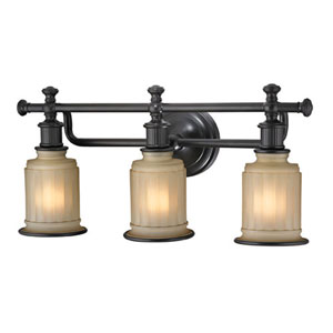Evelyn Oil Rubbed Bronze Three-Light Vanity
