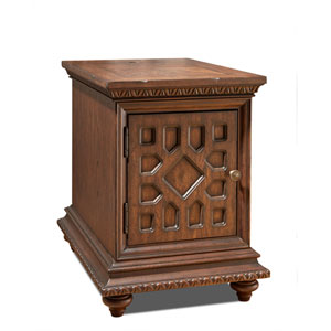 Aster Brown Chairside Table