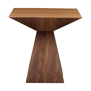 Loring Side Table in American Walnut Veneer
