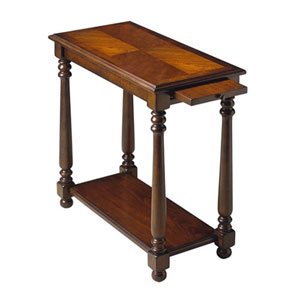 Evelyn Plantation Cherry Chairside Table