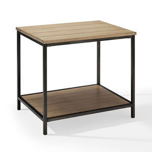 River Station Washed Oak End Table