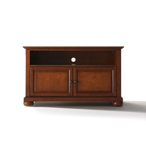 Wellington 42-Inch TV Stand in Classic Cherry Finish