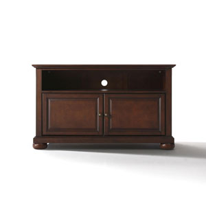Wellington 42-Inch TV Stand in Vintage Mahogany Finish
