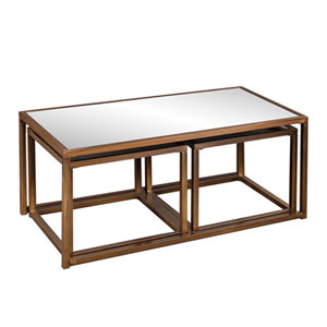 Linden Nested Cocktail/End Table, 3 Piece Set