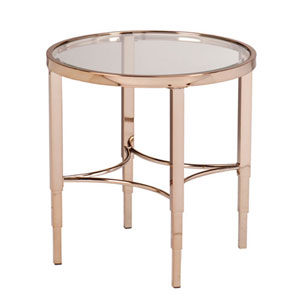 Whittier Gold End Table