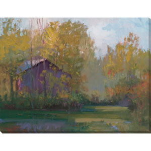 Quinn Cottage in the Wood 18 x 14 In. Wall Art