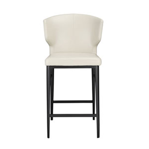 Vivian Beige Counter Stool