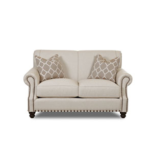 Evelyn Natural Loveseat