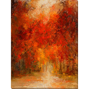Aster Autumn Day 21 x 28 In. Wall Art