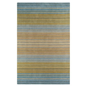 Afton Blue Rectangular: 5 Ft. 6 In. x 8 Ft. 6 In. Rug