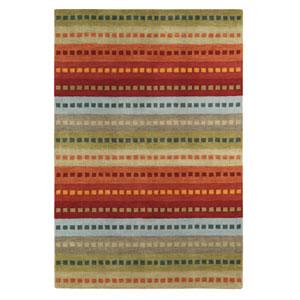 Uptown Multicolor Rectangular: 2 Ft. x 3 Ft. Rug