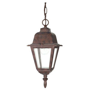 Selby Old Bronze One-Light Outdoor Pendant