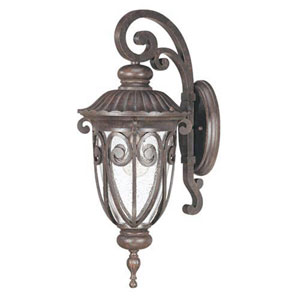 Wellington Bronze 23-Inch One-Light Outdoor Wall Sconce