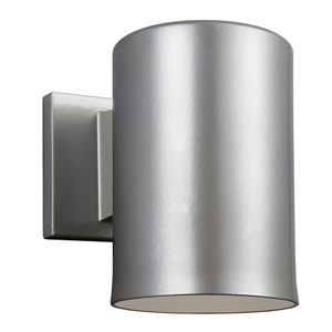 Nicollet Brushed Nickel Seven-Inch One-Light Outdoor Wall Sconce