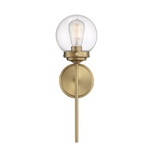 Kenwood Natural Brass 18-Inch One-Light Wall Sconce