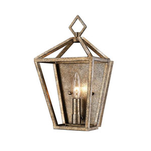 Kenwood Vintage Gold One-Light Wall Sconce
