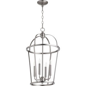 Bryan Satin Nickel Four-Light Pendant