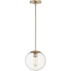 Holland Aged Brass 10-Inch One-Light Pendant