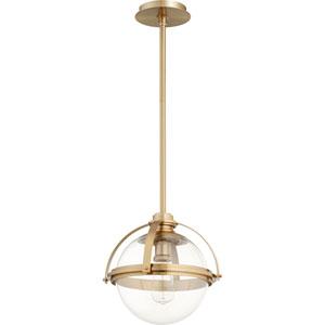 Merton Aged Brass 12-Inch One-Light Pendant