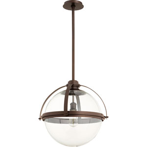 Merton Oiled Bronze 20-Inch One-Light Pendant