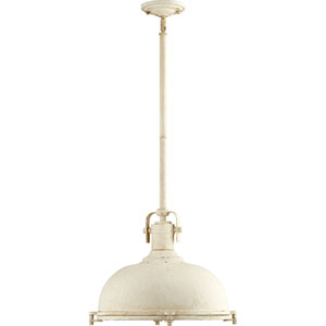 Vista White One-Light Pendant