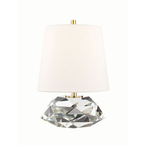 Avery Aged Brass One-Light Table Lamp