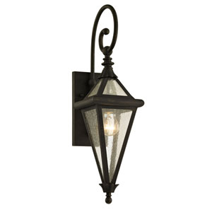Mitre Vintage Bronze One-Light Outdoor Wall Sconce