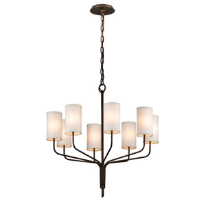 Tallulah Bronze Eight-Light Chandelier