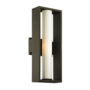 Yardley Textured Bronze 18-Inch One-Light Outdoor Wall Sconce