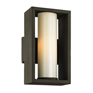 Yardley Textured Bronze 12-Inch One-Light Outdoor Wall Sconce