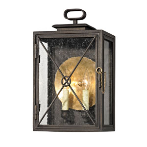 Bliss Vintage Bronze Two-Light Outdoor Wall Sconce