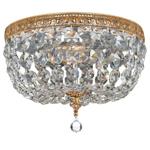 Wellington Brass 10-Inch Two-Light Flush Mount