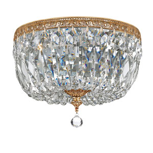 Wellington Brass 12-Inch Three-Light Flush Mount