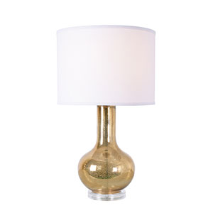 Whittier Gold Antique Mercury Glass One-Light Table Lamp