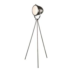 Nicollet Antique Metal One-Light Floor Lamp