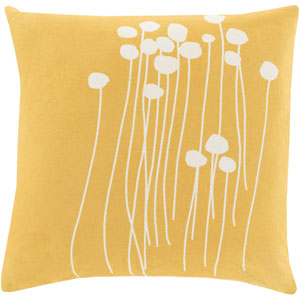 Grace Gold 18 In. Throw Pillow